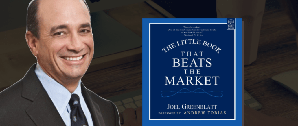 Joel Greenblatt - The Little Book That Beats the Market