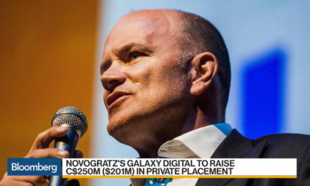 Mike Novogratz (Crypto King) Latest Move