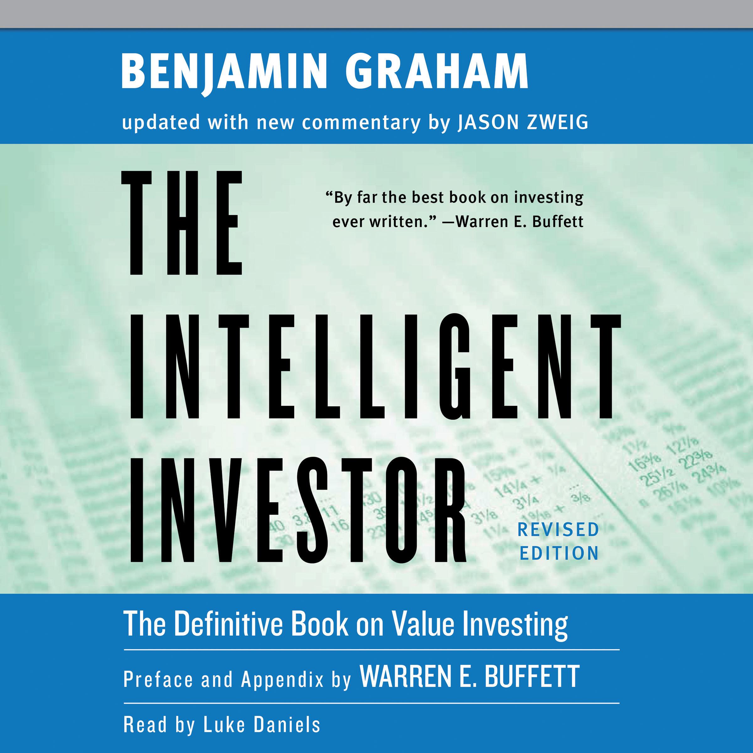 Benjamin Graham The Intelligent Investor