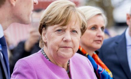Martin Armstrong's  Merkel departure