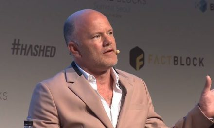 "Mike Novogratz's ""all in"" on crypto view"