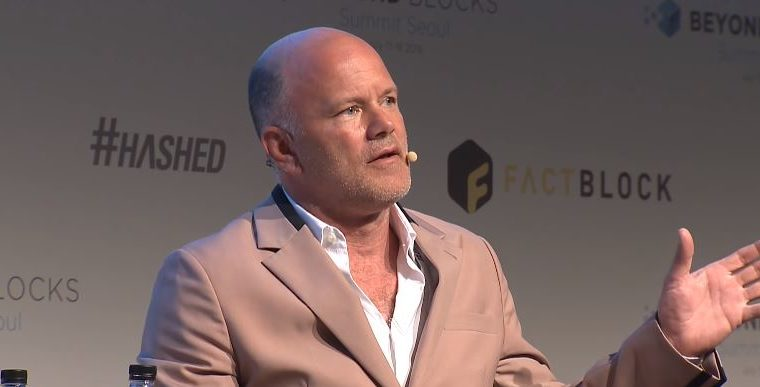 """Mike Novogratz's """"all in"""" on crypto view"""