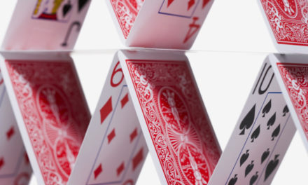 Peter Schiff's we're in a Fed built house of cards