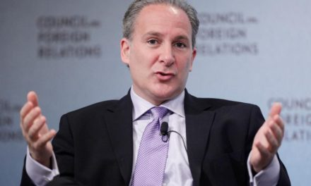 Peter Schiff sees a negative divergence